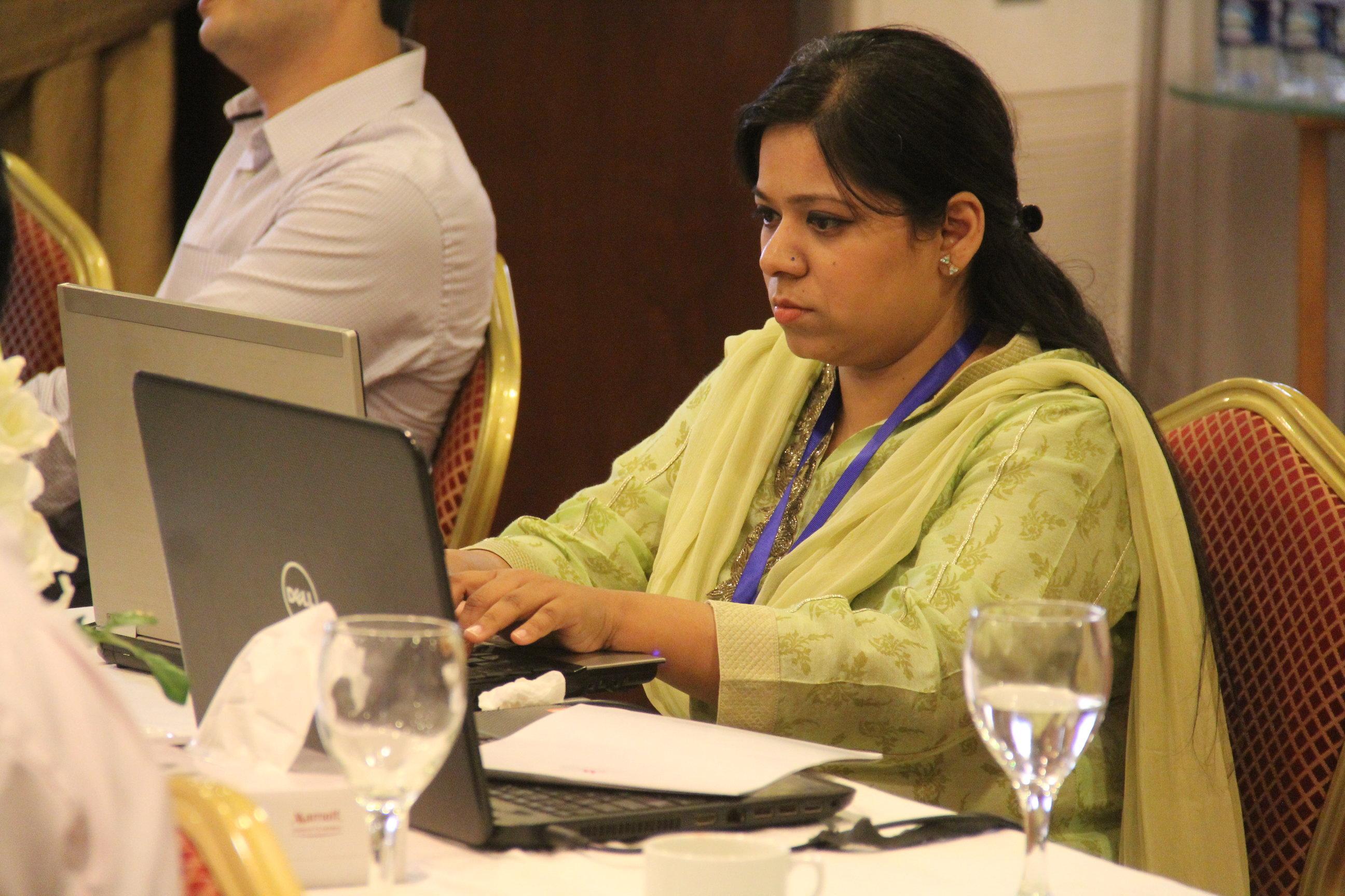 Sarah Batool Haider of Karachi