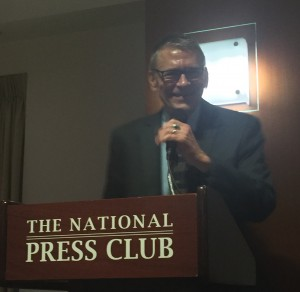 Alfred Friendly and Daniel Pearl newsroom mentor, Greg Victor, speaks at The National Press Club in Washington D.C. He talks about the power of mentoring journalists around the world and how we learn more from them than they do from us.