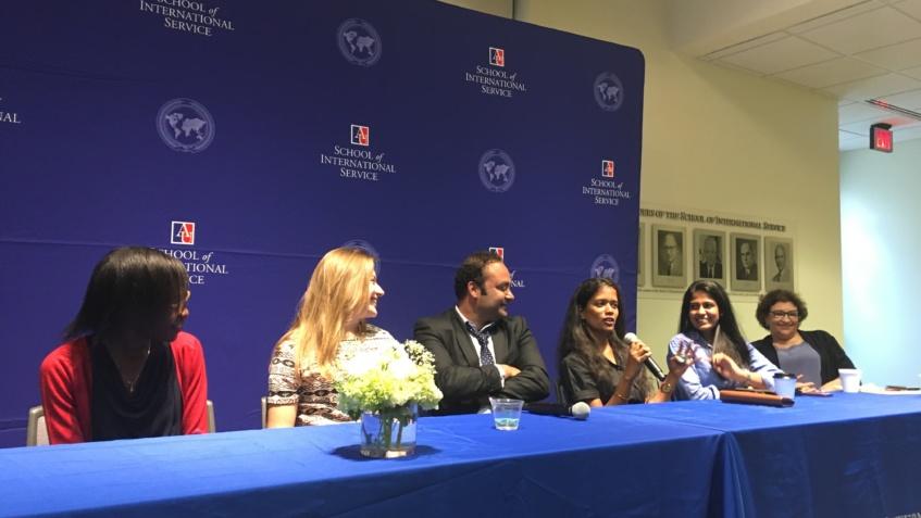 American University panel